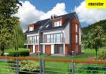Проект двухэтажного дома с мансардой  - Муратор БЦ14